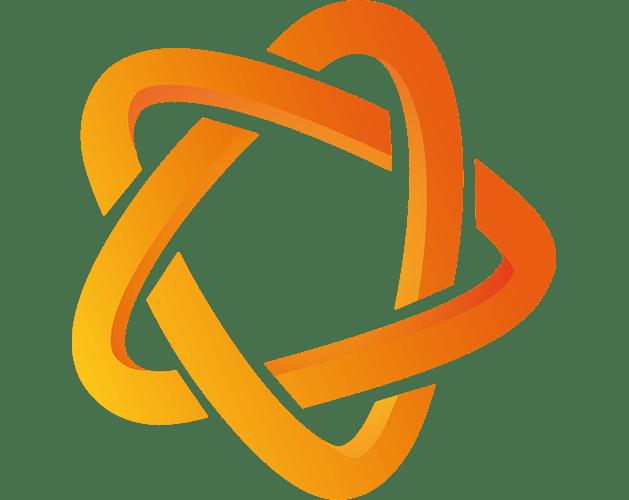 Orange Logo Star